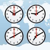 App Icon: Weltzeituhr, Wecker und Zeitzone Rechner (News Clocks Lite) 29.2