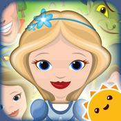 App Icon: Grimms Rapunzel – interaktives Aufklappbuch in 3D 1.0.24