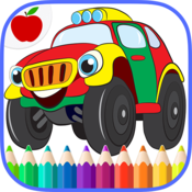 App Icon: Cars and Trucks Coloring Book