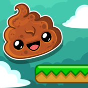 App Icon: Happy Poo Jump