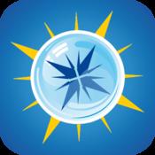App Icon: Mineralwasserkompass