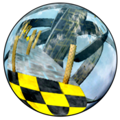 App Icon: Skyball Lite (3D Racing game)