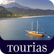 App Icon: Top 100 Reiseführer - TOURIAS Travel Guide by GIATA (Offline-Karten kostenlos) 6.4