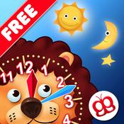App Icon: Interaktiv die Uhr Lesen Lernen - macht Spaß Lite 3.5
